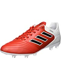 Adidas Copa 17.2 Fg, Botas de Fútbol para Hombre, Marrón (Rojo/Negbas/Ftwbla), 47 EU
