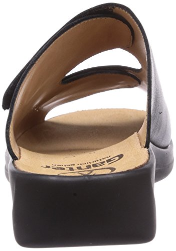 Ganter  MONICA, Weite G, Claquettes femmes Noir - Noir (0100)