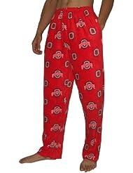 NCAA Oklahoma Sooners hommes Fall / Winter Polar Fleece Thermal Sleepwear / Pajama Pantalon