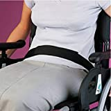 Homecraft Wheelchair Strap (Eligible for VAT Relief in the UK) Lap Belt with Hook and Loop Closure, Waist Belt for Elderly Patients, Disabled, Handicapped, for Up to 120 cm Waist, Safety Positioning