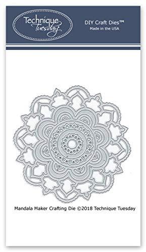 Mandala-Maker Metallschablonen/Stanzschablonen/Stanzschablonen/Stanzschablonen für Karten -