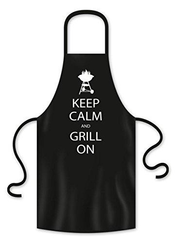 Close Up Delantal Cocina Parrilla Keep Calm and Grill