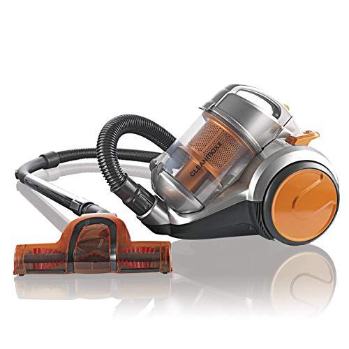 CLEANmaxx 07023 Zyklon Bodenstaubsauger | Staubsauger | Bodenpflege | 700 Watt (Generalüberholt)