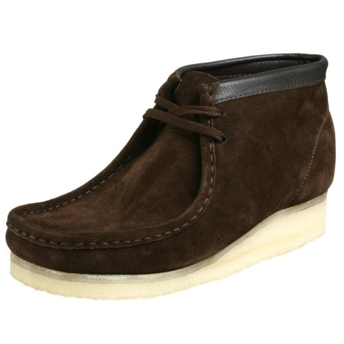 Clarks Men's Wallabee B Chukka Boot, Brown, 8.5 F UK