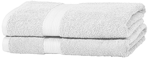 AmazonBasics Fade Resitant Towel Set, 2 Bath