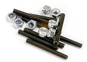Traxxas 3962 - Juego de Tornillos de Nailon para Coche (3 mm)
