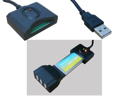 Kalea-Informatique Adapter ExpressCard auf USB 2.0, für ExpressCard 34 oder 54