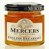 Mercers - Fine Cut English Breakfast Marmalade - 340g x 6