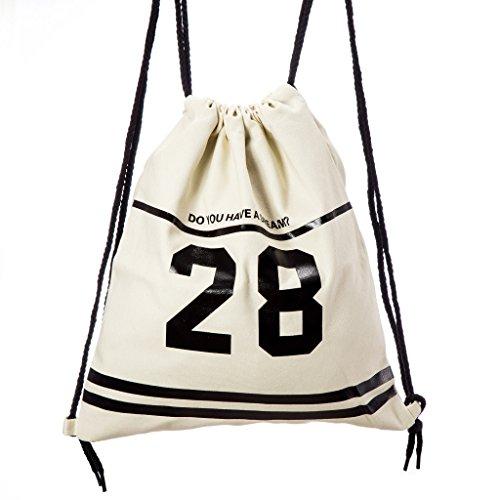 Lady Donovan - Tasche Tüte Rucksack Jute-beutel Turnbeutel Sport-beutel 28