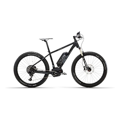 E SESTRIERE 27 5 PLUS CX 500 NEGRO MATE MOUNTAIN BIKE ELECTRICA   LOMBARDO BIKES 2017 TAMAÑO 18