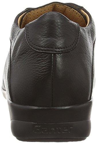 Ganter Fiona, Weite F, Derbies à lacets femme Noir (schwarz 0100)