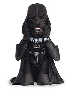 Star Wars - Disfraz de Darth Vader Deluxe para mascota, Talla XL perro (Rubie