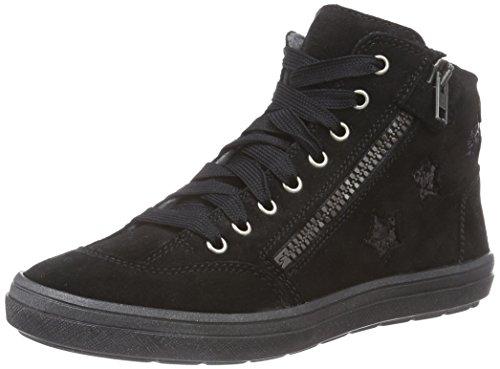 Richter Kinderschuhe Ilva, Mädchen Hohe Sneakers, Schwarz (black 9900), 34 EU