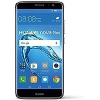Huawei 51090SGV Nova Plus Smartphone da 32GB, Dual SIM, Grigio
