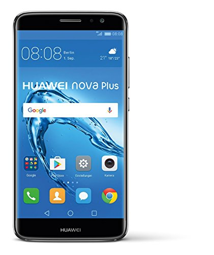 "Huawei Nova Plus - Smartphone libre Android (5.5"", 32 MP, 3 GB RAM, 4G), color gris"