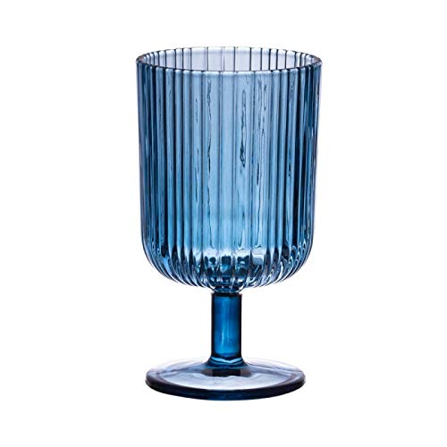 Table Passion - Verre à pied milre bleu 28 cl (lot de 6)