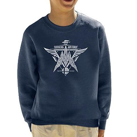 Star Fox Squadron Corneria Air Force Kid's Sweatshirt