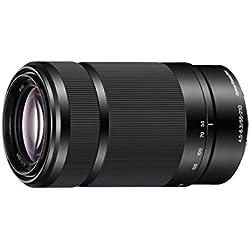 Sony Objectif SEL-55210BQ Monture E APS-C 55-210 mm F4.5-6.3 - Noir