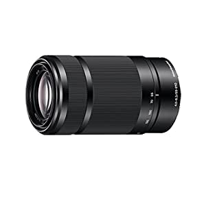 Sony SEL55210, Tele-Zoom-Objektiv (55-210 mm, F4,5–6,3 OSS, E-Mount APS-C, geeignet für A5000/ A5100/ A6000 Serien& Nex) schwarz