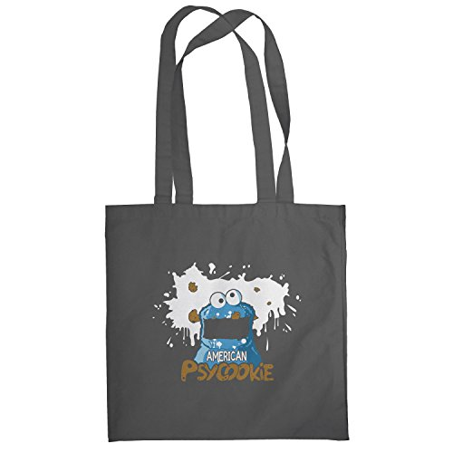 Texlab–American Psyco okie–sacchetto di stoffa Grau