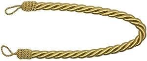 PCJ Supplies - Embrasse De Rideaux Epais Or Grosse Corde Satin 81 cm