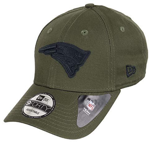 New Era New England Patriots 9forty Adjustable Cap NFL Olive Pack Olive - One-Size England Grün