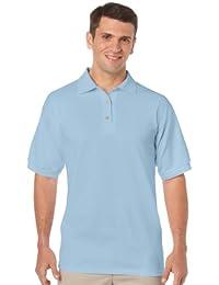 Gildan T-shirt DryBlend Jersey Polo couleur = Bleu clair Taille = Taille S