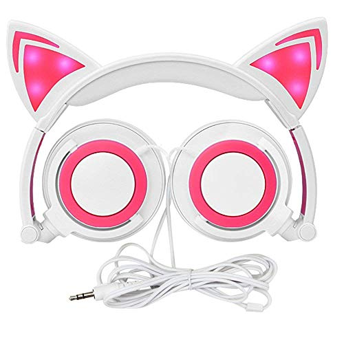 Auriculares para Niños con Oído de Gato