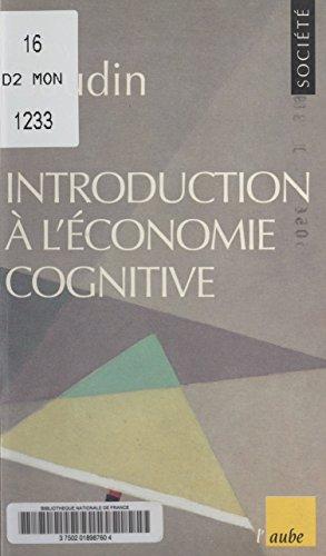 Introduction à l'économie cognitive