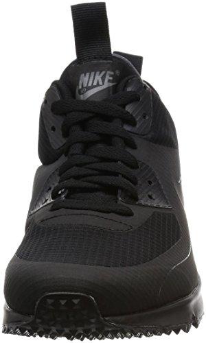 Nike Air Max 90 Mid Wntr Herren Sport & Outdoorschuhe Black (Schwarz / Schwarz)