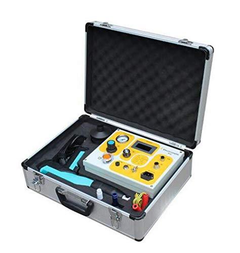 Portable verniciatura a polvere di prova macchina della prova della pistola rivestimento elettrostatica della polvere di vernice Esperimento Sistema pistola a spruzzo 100kV (colore casuale)