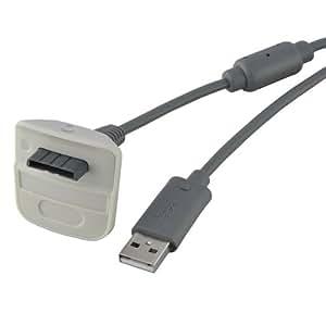 1 8m c ble usb chargeur alimentation pour microsoft manette sans fil xbox 360 jeux vid o. Black Bedroom Furniture Sets. Home Design Ideas