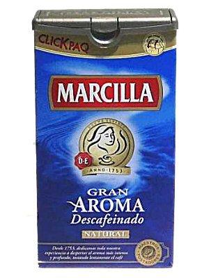 Marcilla-Cafédescafeinadonatural250gr.