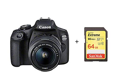 Canon EOS 2000D DSLR Camera and ...