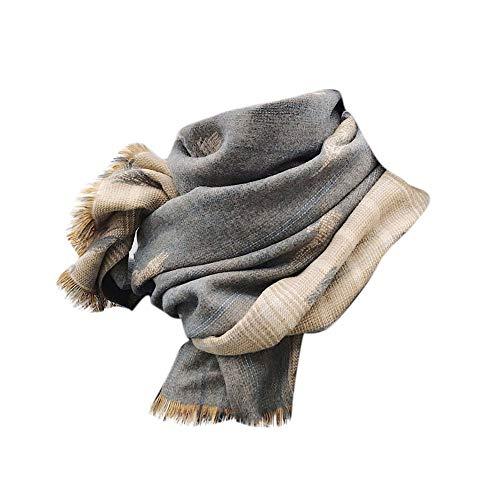 Dorical Damen Winter WarmTassels Doppelseitige Weizen Warm halten Rechteck Schal Klimaanlage Schal Clearance