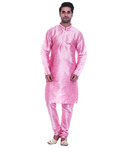royal-kurta-men-s-luxury-art-silk-blend-designer-occasional-kurta-churidar-set-pink-50