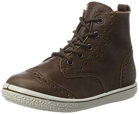 Ricosta Mädchen Jenny Hohe Sneaker, Braun (Mokka), 24 EU