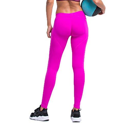GoVIA Po Push-Up Damen Laufhose mit dem absuloten WOW-Effekt Sport Leggings Fitness Yoga Freizeit 4102