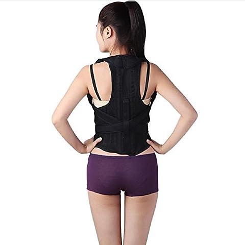 Gesundheitspflege Zurück Stützgurt Schulter Stütze Rücken Klammer Haltung Korrektur Für Bucklige , L
