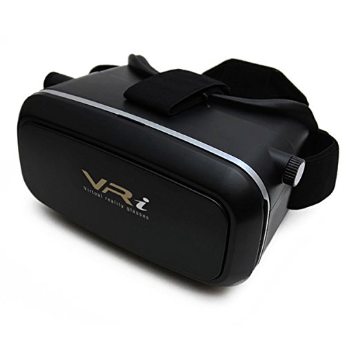 Virtual Reality Brille, VR-i EVOLUTION 3.0, 42mm große Objektive, (für jedes Smartphone, iPhone,...