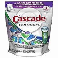 Proctor and Gamble 84475 10C Cascade Platinum Pacs-10 Pack Pack Of 6