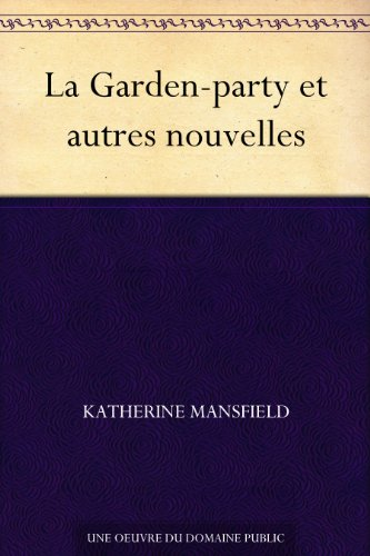 utres nouvelles (French Edition) (Fairy Garden Party)