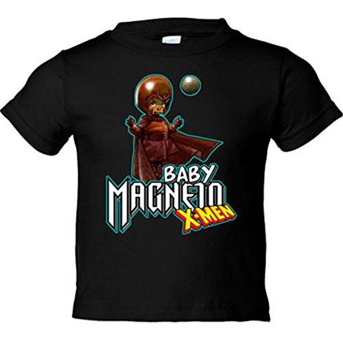 Camiseta niño Baby Magneto X-Men - Negro, 18-24 meses
