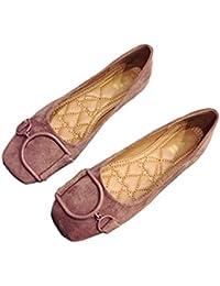 Zapatos Planos para Mujeres, Mocasines Casuales de Trabajo para Mujer