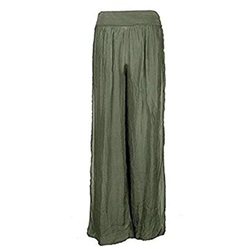 gugu fashion -  Pantaloni  - Donna Khaki