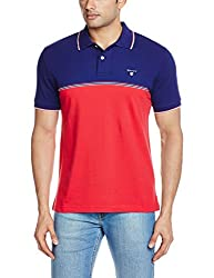 Gant Mens Polo (8907259485003_GMTHF0160_Large_Blue)