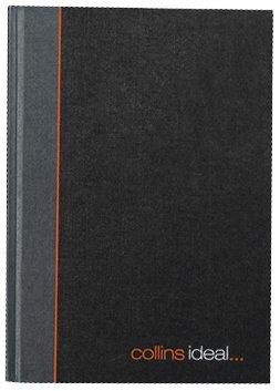 Collins Ideal Manuskript-Buch gebunden A4 80g/m² liniert 192 Seiten schwarz