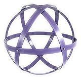 Genesa Crystal, Purificatore energia, Dispositivo orgonico 32 cm diametro indaco, lilla