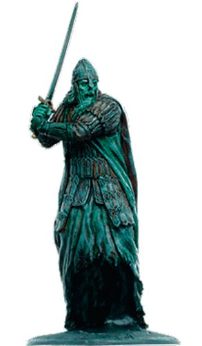 Lord of the Rings Señor de los Anillos Figurine Collection Nº 143 Soldier of The Dead 1