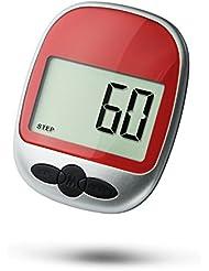 Super Preis Schrittzähler Pedometer Fitness Aktivitäten Zählerein Laufschrittzähler und Kalorienzähler, mit Clip